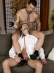 Gang Bang: Office meeting cum-loaded threesome