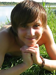Mike - pretty teen boy outdoor