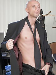 Older Younger: Horny office boy gets stripped & fucked raw by his dirty-minded boss!