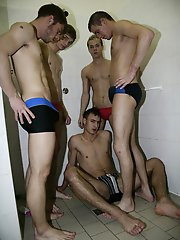 Gang Bang: Changing room violationg