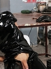 PVC Twink fucked raw. Peter Polloc and Rodion Taxa.